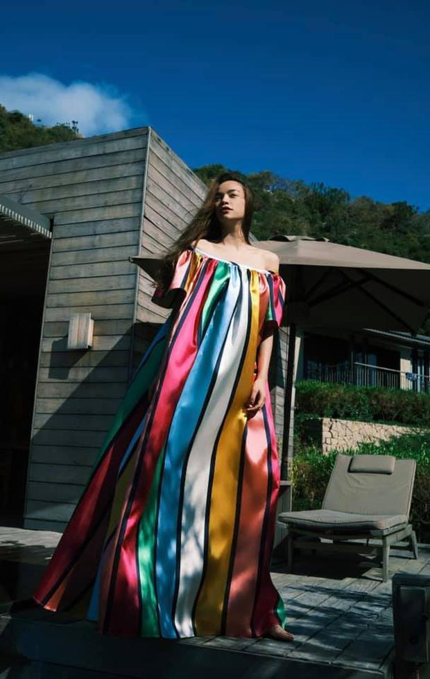 Hà Hồ có cả loạt ảnh sống ảo đỉnh cao nhờ kiểu váy này, chị em muốn học theo cũng cực dễ - Ảnh 5.
