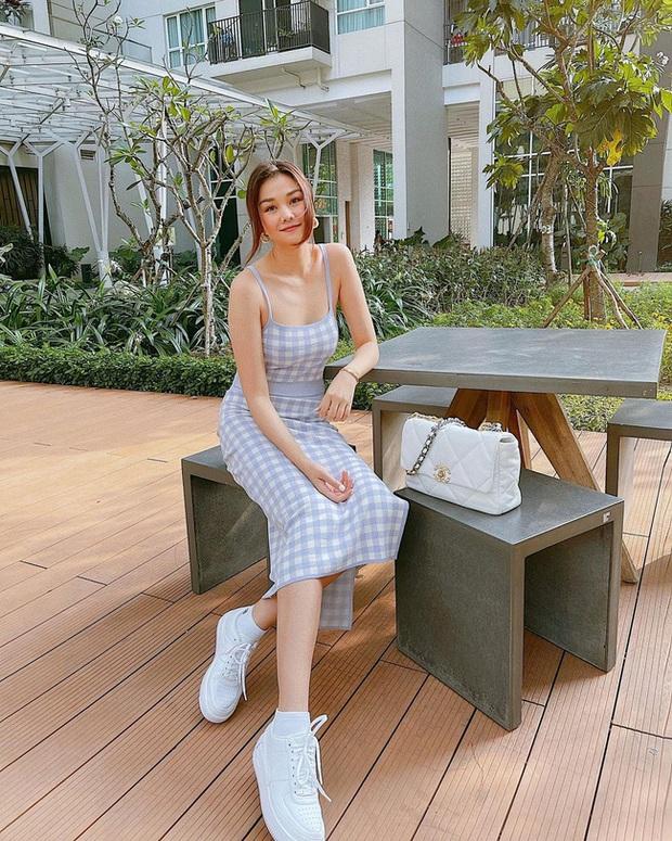 Thanh Hằng có loạt outfit mùa Hè xinh ngây ngất, các nàng học theo thì đảm bảo luôn đẹp - Ảnh 8.