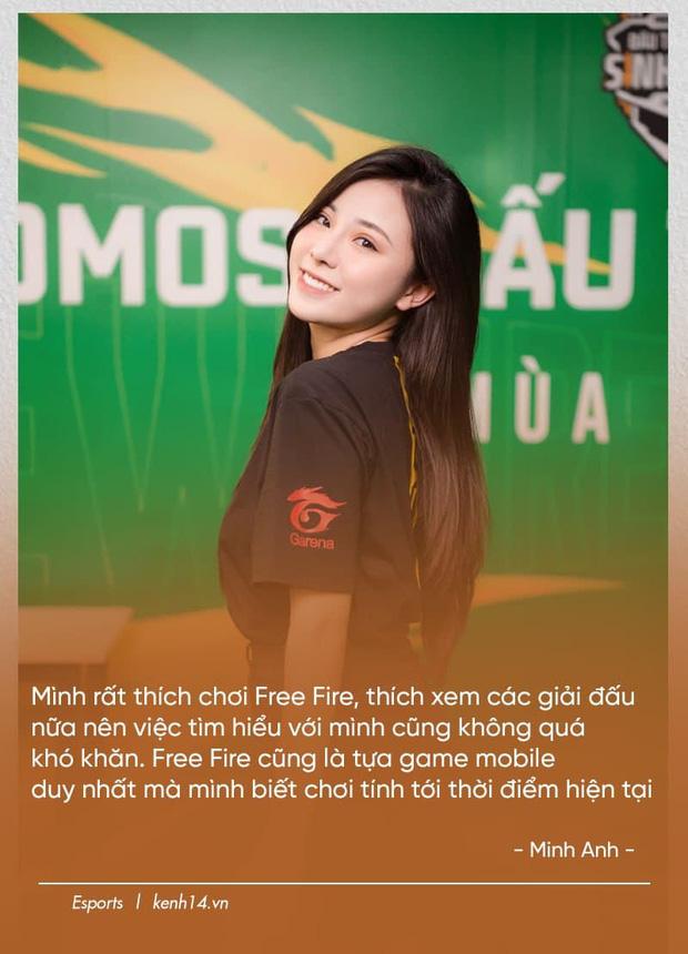 Nữ MC vạn người mê của Free Fire: Thật hạnh phúc khi khán giả đến xem Đấu Trường Sinh Tồn chỉ để gặp tôi - Ảnh 3.