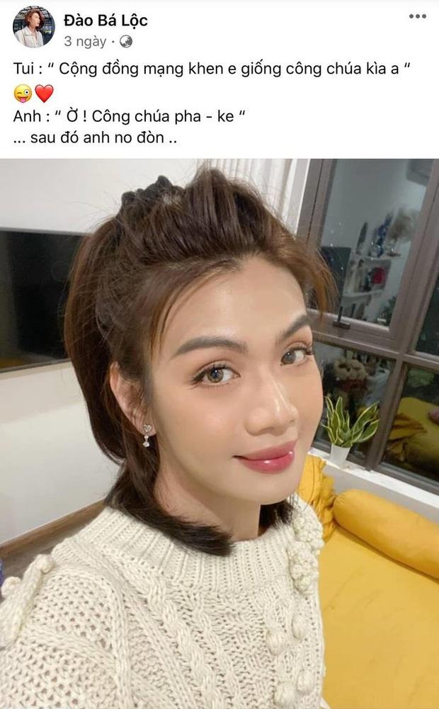 """Đào Bá Lộc khoe được netizen khen xinh như công chúa, bạn trai phán ngay công chúa """"pha-ke"""" và cái kết """"no đòn"""" - Ảnh 2."""