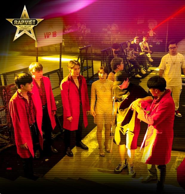 Karik chống nạng xuất hiện tại buổi tổng duyệt, ngầm xác nhận góp mặt tại Rap Việt Concert bất chấp chấn thương  - Ảnh 6.