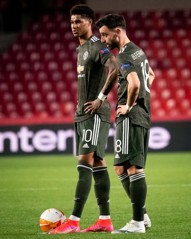 Rashford và Bruno giúp MU đặt một chân vào bán kết Europa League - Ảnh 1.