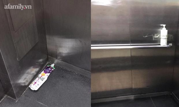 Thêm chuyện kinh dị ở chung cư thủng khiến 2 người rơi từ tầng 2: Tranh thủ lúc không có ai, cư dân tè luôn trong thang máy - Ảnh 4.