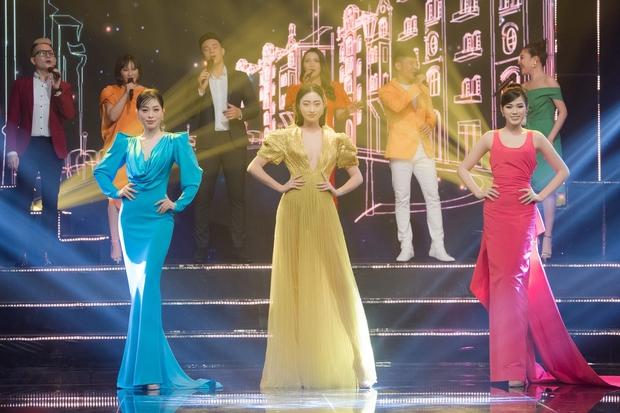 Mặc váy vàng và đá chân cao, Hà Hồ tiễn Khánh Linh - Lương Thùy Linh về nơi xa lắm... - Ảnh 3.
