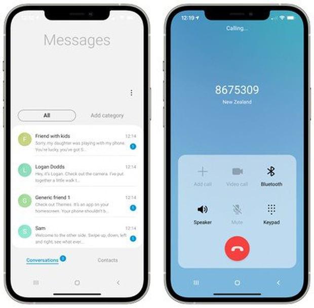 Samsung ra mắt ứng dụng cho phép bạn trải nghiệm giao diện của smartphone Galaxy ngay trên iPhone - Ảnh 3.