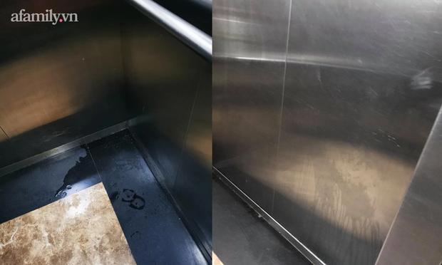 Thêm chuyện kinh dị ở chung cư thủng khiến 2 người rơi từ tầng 2: Tranh thủ lúc không có ai, cư dân tè luôn trong thang máy - Ảnh 5.