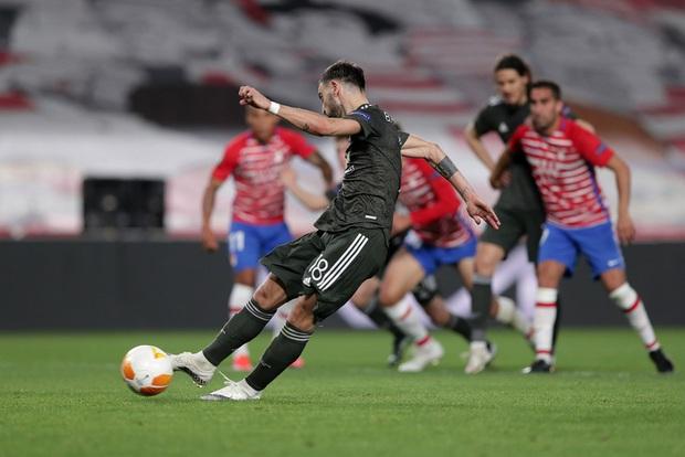 Rashford và Bruno giúp MU đặt một chân vào bán kết Europa League - Ảnh 9.