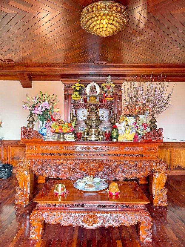 Biệt thự bề thế của gia đình 9X Bắc Ninh: Diện tích 400m2 với 4 tầng, nội thất tinh xảo toàn gỗ nguyên khối nhập từ Lào - Ảnh 15.