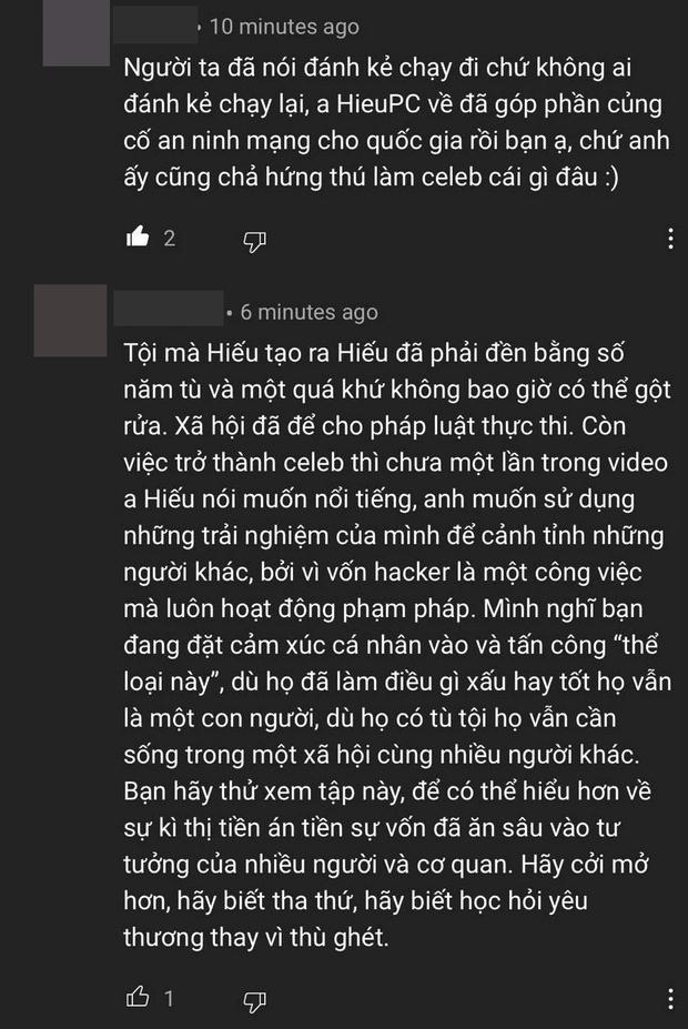 Bar Stories khiến netizen khẩu chiến dữ dội vì khách mời Hieupc: Người từng tù tội có đáng nhận ủng hộ? - Ảnh 6.