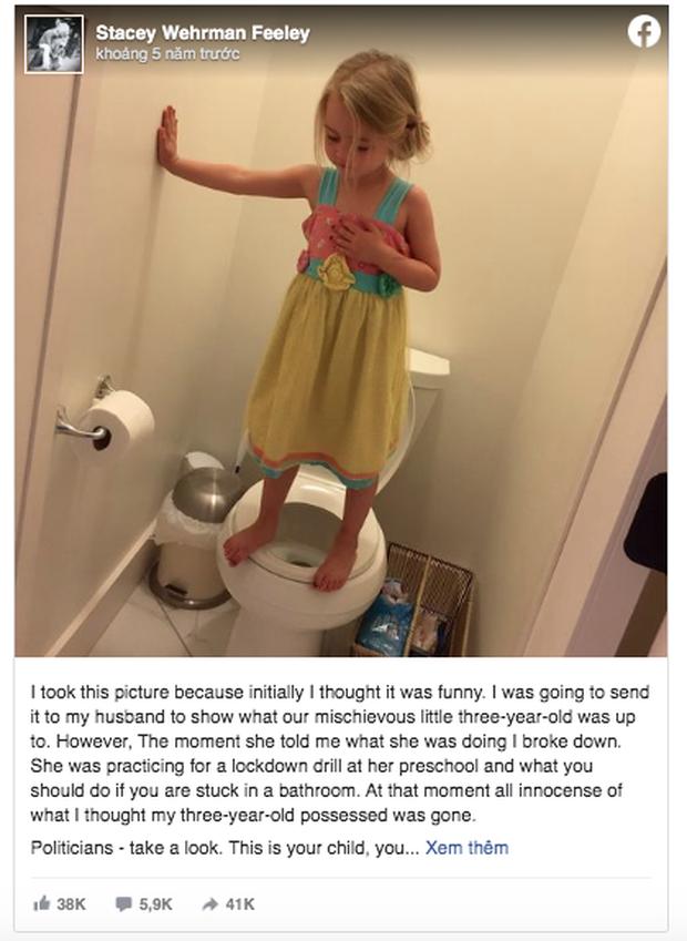 Chụp ảnh con gái đứng trên bồn cầu vì quá đáng yêu, mẹ xúc động mạnh khi nghe đứa trẻ giải thích về hành động ấy - Ảnh 2.