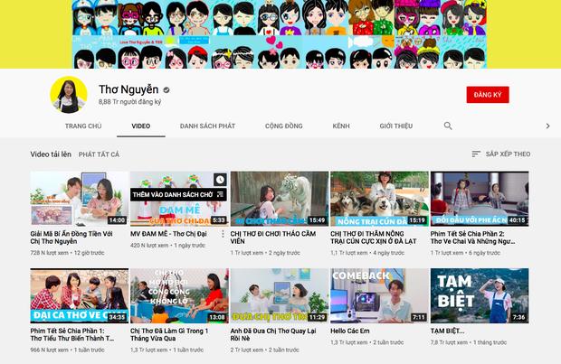 Cộng đồng mạng thật lạ: hô hào, lên án, đòi anti các kiểu mà sao kênh YouTube Thơ Nguyễn vẫn tăng subscriber chóng mặt, sắp đạt nút Kim Cương luôn rồi? - Ảnh 5.
