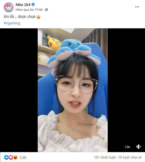 Nữ streamer từng lộ clip 18+ bày trò phá game, chửi đồng đội xong tự đăng clip Xin lỗi... được chưa? - Ảnh 4.