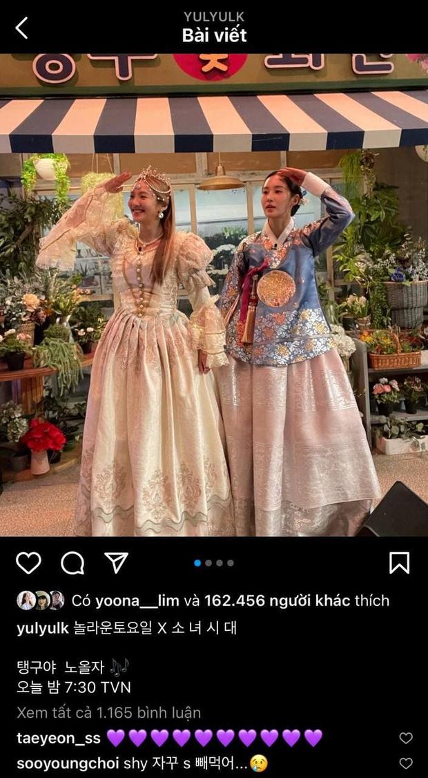 3 mỹ nhân SNSD đánh lẻ trên show, hội chị em ở nhà liền PR nhiệt liệt - Ảnh 2.