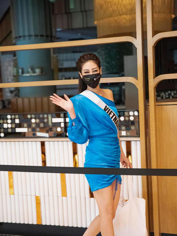 Khánh Vân lan toả trái tim ấm áp tại Miss Universe: Xung phong cứu nguy đối thủ đại diện Myanmar gặp sự cố mất hết vali - Ảnh 6.