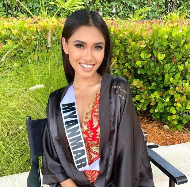 Khánh Vân lan toả trái tim ấm áp tại Miss Universe: Xung phong cứu nguy đối thủ đại diện Myanmar gặp sự cố mất hết vali - Ảnh 4.