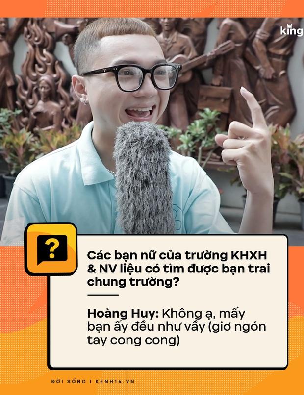 Đi hỏi sinh viên Nhân văn Sài Gòn chuyện có bồ, quan hệ - câu trả lời ra sao? - Ảnh 2.