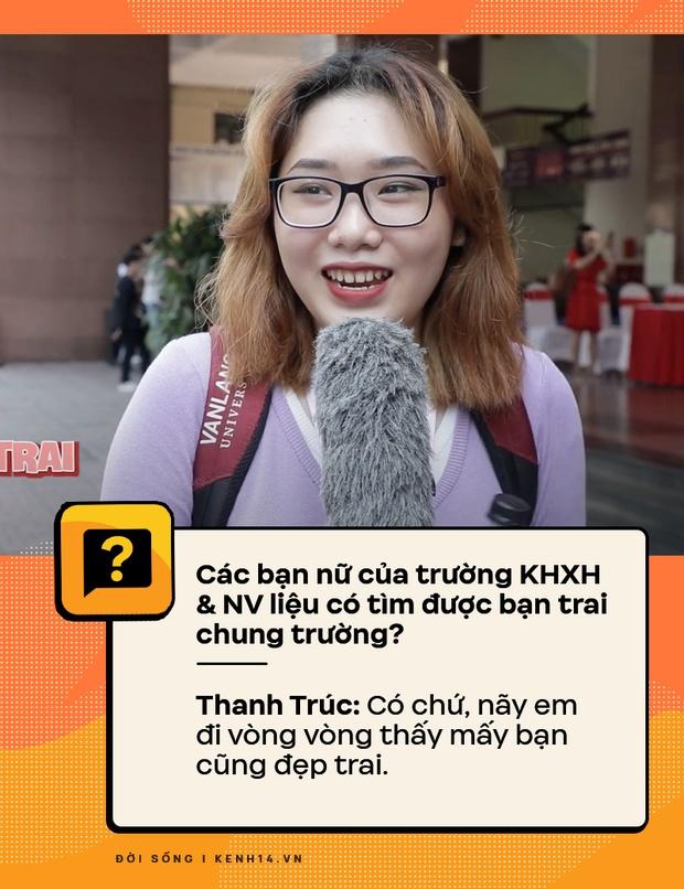 Đi hỏi sinh viên Nhân văn Sài Gòn chuyện có bồ, quan hệ - câu trả lời ra sao? - Ảnh 5.