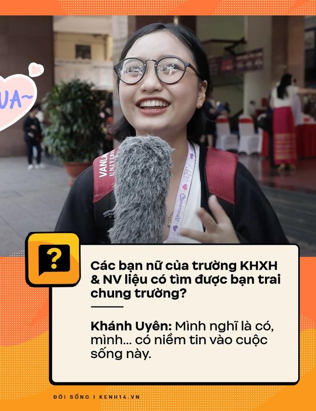 Đi hỏi sinh viên Nhân văn Sài Gòn chuyện có bồ, quan hệ - câu trả lời ra sao? - Ảnh 3.