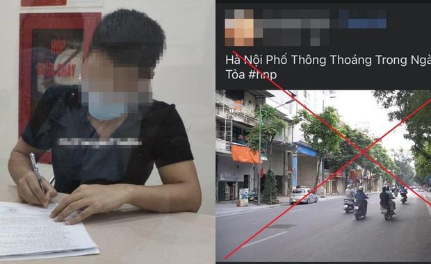 Xử phạt YouTuber Duy Nến 12,5 triệu đồng vì tung tin Hà Nội bị phong tỏa - Ảnh 1.
