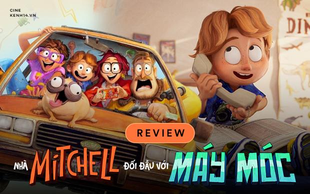 The Mitchells vs. The Machines: Khi một gia-đình-kiểu-mới đi đánh robot, thì ta có phim hoạt hình xuất sắc nhất nhì 2021! - Ảnh 1.