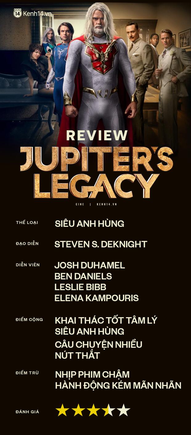 Jupiters Legacy: Sẽ thế nào nếu siêu anh hùng là những kẻ nghiện hút, ăn chơi trác táng? - Ảnh 16.