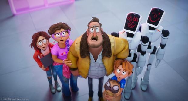 The Mitchells vs. The Machines: Khi một gia-đình-kiểu-mới đi đánh robot, thì ta có phim hoạt hình xuất sắc nhất nhì 2021! - Ảnh 11.