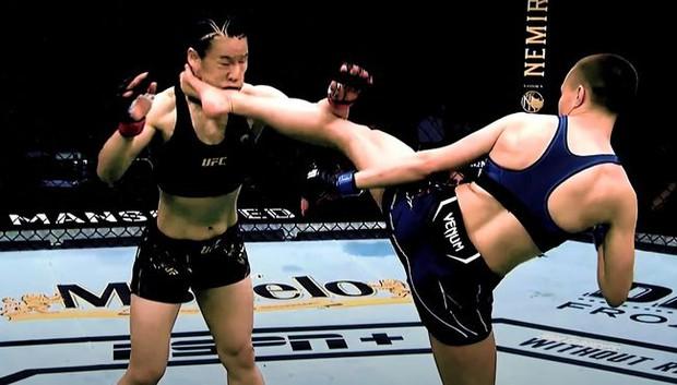 """Võ sĩ Mỹ dùng chính """"đòn hiểm"""" của Lý Tiểu Long để hạ đệ nhất MMA Trung Quốc - Ảnh 2."""