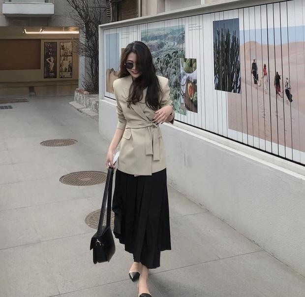 Phương Anh - quý cô diện đồ Hàn theo style Pháp: Sự tinh tế, sang trọng luôn đến từ jeans, sơ mi hay chính dáng quần âu vẫn mặc - Ảnh 9.