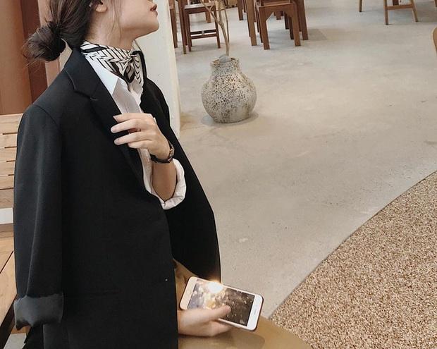 Phương Anh - quý cô diện đồ Hàn theo style Pháp: Sự tinh tế, sang trọng luôn đến từ jeans, sơ mi hay chính dáng quần âu vẫn mặc - Ảnh 10.