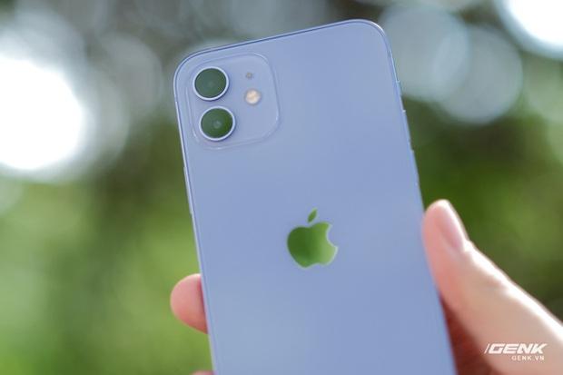 Trên tay iPhone 12 màu tím mộng mơ mới, giá chính hãng 22 triệu đồng, lên kệ trong tháng 6 - Ảnh 4.