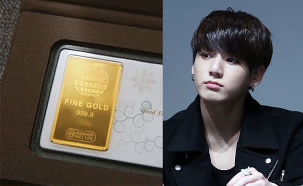 6 lần fan gây sốc vì tặng idol quà khủng: Jungkook nhận thỏi vàng và đồng hồ nửa tỷ, nữ idol debut 2 tháng đã có núi hàng hiệu - Ảnh 2.