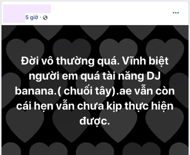 K-ICM cùng đồng nghiệp đau xót trước thông tin DJ tài năng qua đời vì tai nạn - Ảnh 4.