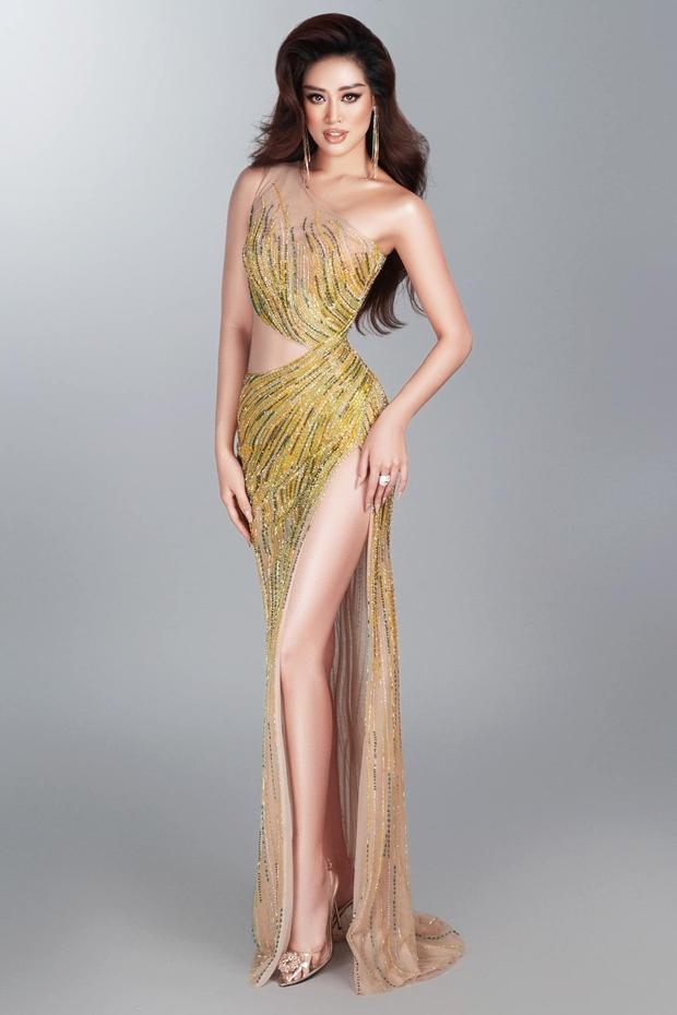 Netizen tranh cãi vì trang phục của HH Khánh Vân trước thềm bán kết, nguyên nhân do đâu? - Ảnh 4.