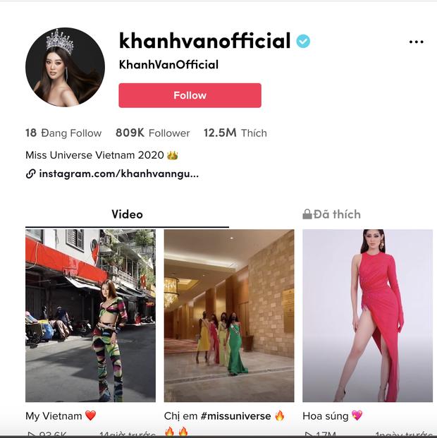 Độ hot của Khánh Vân tăng vọt chỉ sau 4 ngày chinh chiến tại Miss Universe, chính thức cán mốc 1 triệu follower Facebook - Ảnh 5.