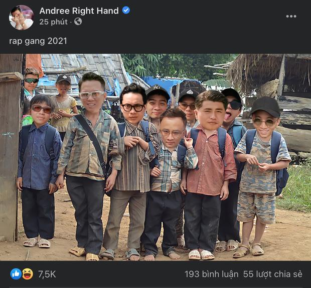Andree đi 1 đường phép thuật Winx làm dàn rapper hot nhất Việt Nam teo nhỏ lại, nhìn đến Binz mà tức á! - Ảnh 1.