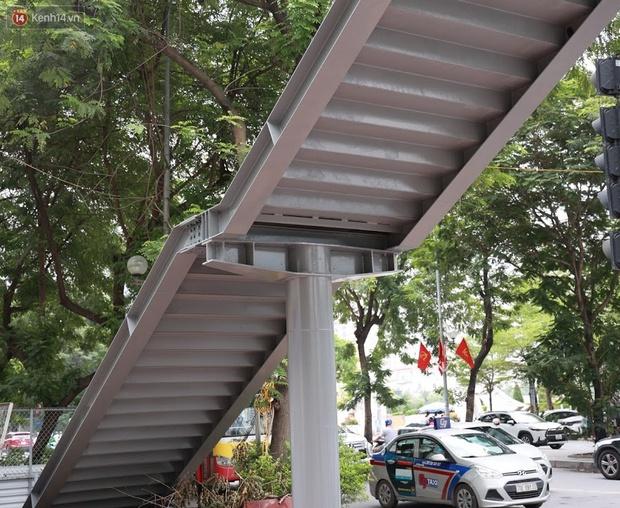 Ảnh: Chiêm ngưỡng cây cầu chữ Y độc nhất tại Hà Nội sắp đi vào vận hành - Ảnh 8.