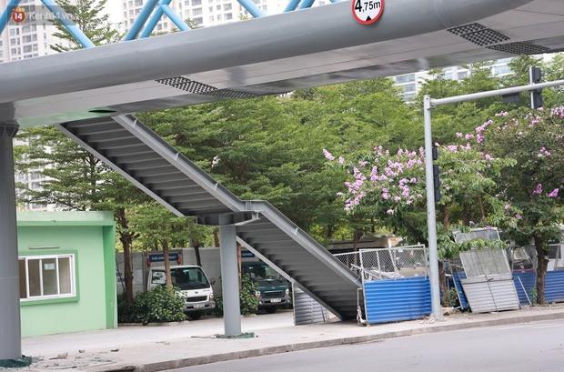 Ảnh: Chiêm ngưỡng cây cầu chữ Y độc nhất tại Hà Nội sắp đi vào vận hành - Ảnh 6.