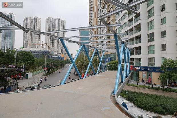Ảnh: Chiêm ngưỡng cây cầu chữ Y độc nhất tại Hà Nội sắp đi vào vận hành - Ảnh 7.