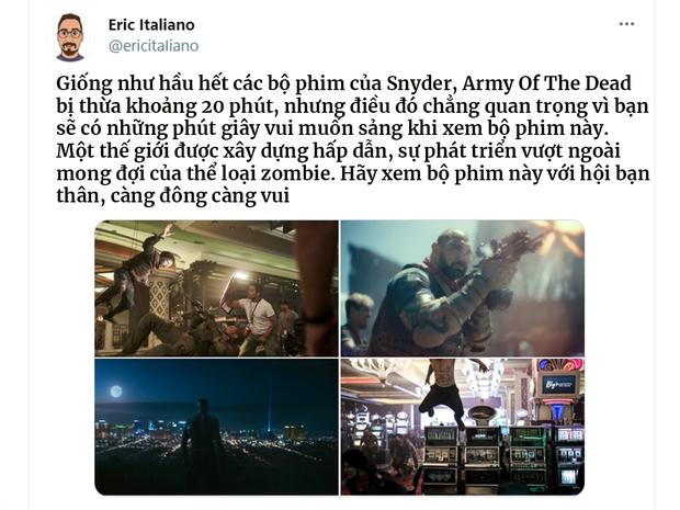Bom tấn zombie của Zack Snyder khiến khán giả khen không ngớt: Đúng chuẩn Suicide Squad bản xác sống! - Ảnh 2.