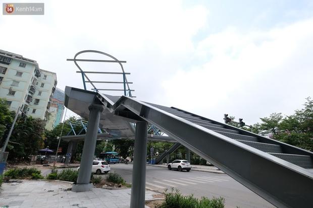 Ảnh: Chiêm ngưỡng cây cầu chữ Y độc nhất tại Hà Nội sắp đi vào vận hành - Ảnh 3.
