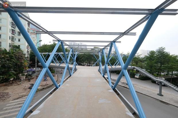 Ảnh: Chiêm ngưỡng cây cầu chữ Y độc nhất tại Hà Nội sắp đi vào vận hành - Ảnh 5.