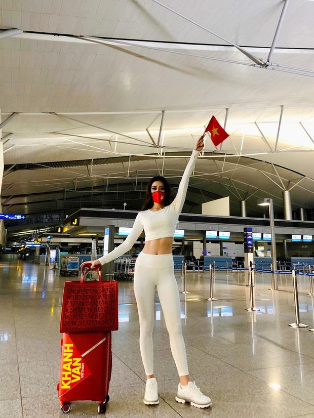 Bên trong 15 vali Khánh Vân mang đến Miss Universe: Đầu tư chỉn chu từ váy áo đến phụ kiện, riêng 1 chi tiết xứng đáng 10 điểm - Ảnh 5.