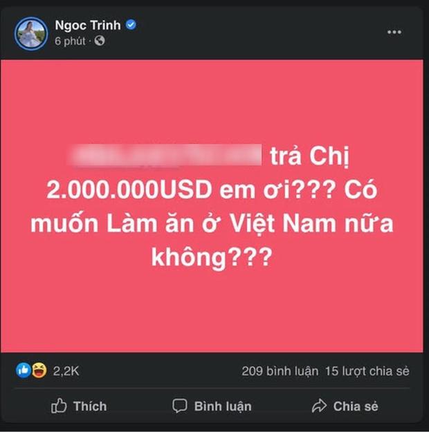 Biến mới: Ngọc Trinh công khai đòi nợ 46 tỷ đồng, còn cảnh cáo Có muốn làm ăn ở Việt Nam nữa không? - Ảnh 2.