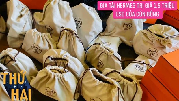 Hot mom nhiều túi Hermès hơn cả Ngọc Trinh hé lộ gia tài túi hơn 30 tỷ, nhiều mẫu hot hit chưa chắc có tiền đã mua được - Ảnh 2.