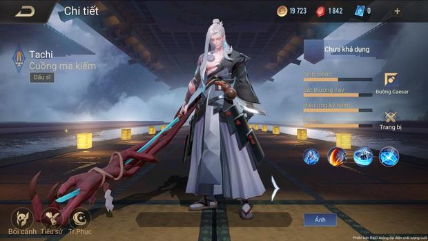 Liên Quân Mobile: Hóa ra tướng mới Tachi là phiên bản Yasuo của Vương Giả Vinh Diệu, nhưng bộ kỹ năng đã được chỉnh sửa lại? - Ảnh 3.