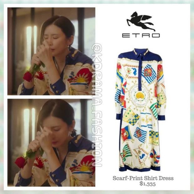 Đẳng cấp hàng hiệu của Hoa hậu Hàn Quốc trong phim mới: Tủ đồ 100% váy áo xa xỉ, xem bóc giá mà toát mồ hôi - Ảnh 8.