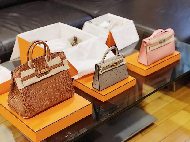 Hot mom nhiều túi Hermès hơn cả Ngọc Trinh hé lộ gia tài túi hơn 30 tỷ, nhiều mẫu hot hit chưa chắc có tiền đã mua được - Ảnh 12.
