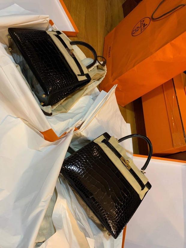 Hot mom nhiều túi Hermès hơn cả Ngọc Trinh hé lộ gia tài túi hơn 30 tỷ, nhiều mẫu hot hit chưa chắc có tiền đã mua được - Ảnh 13.