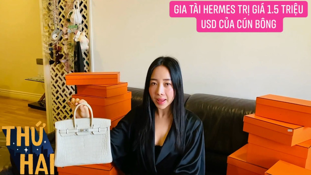 Hot mom nhiều túi Hermès hơn cả Ngọc Trinh hé lộ gia tài túi hơn 30 tỷ, nhiều mẫu hot hit chưa chắc có tiền đã mua được - Ảnh 3.