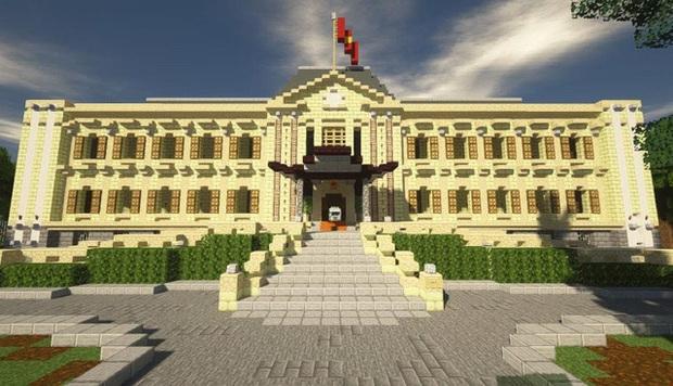 Phố đi bộ quanh Hồ Gươm được tái hiện lại trong Minecraft - Ảnh 4.